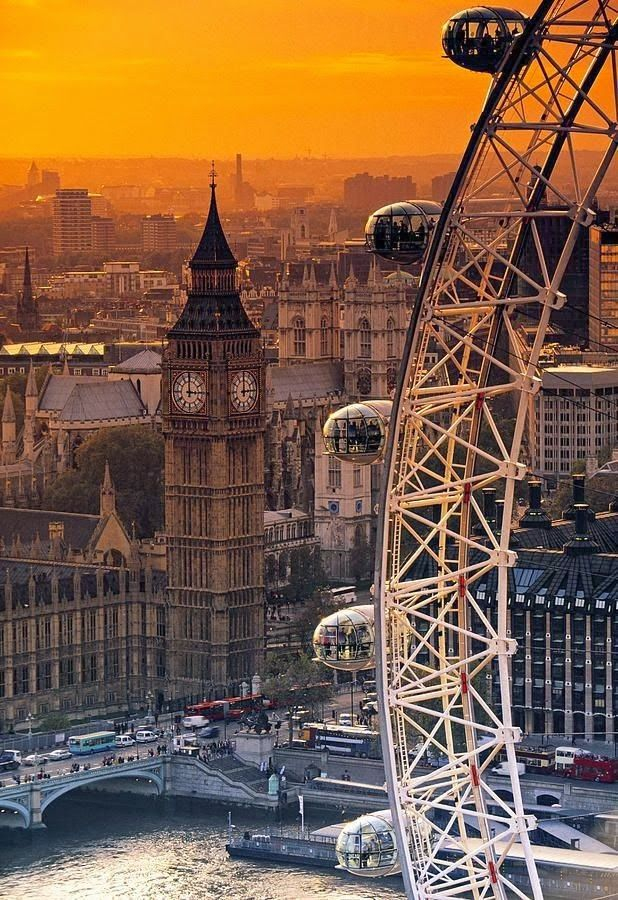 London Sunset- I want to be there to see it!
