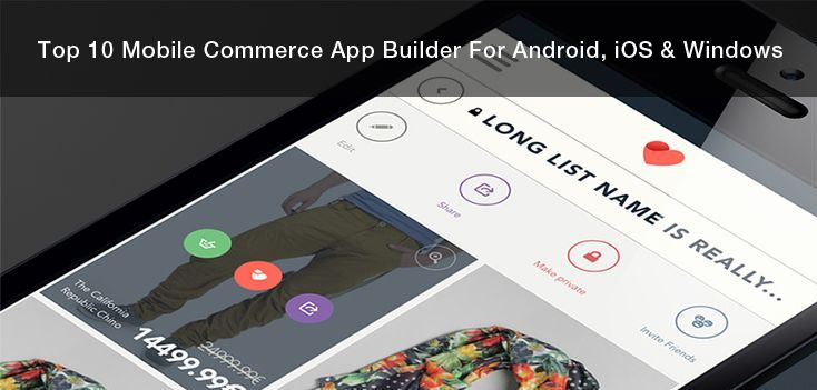 """""""Top 10 Mobile Commerce App Builder For Android & iOS"""" https://www.behance.net/gallery/45531035/Top-10-Mobile-Commerce-App-Builder-For-Android-iOS"""