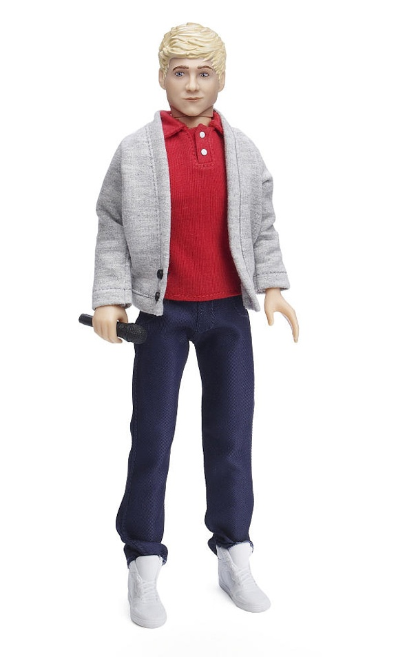 we found a One Direction Niall doll for $5 for Lucy to add to her Barbie collection. :)