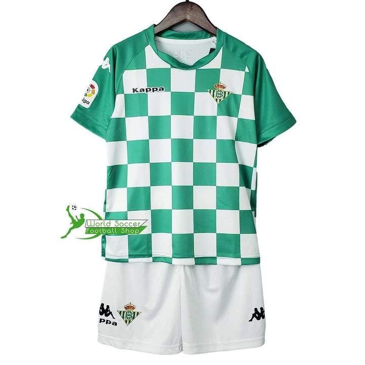 Real Betis Football Club Kappa Kids Kit 2019 20 Futbol Soccer Kit Calc Www Worldsoccerfootballshop Com