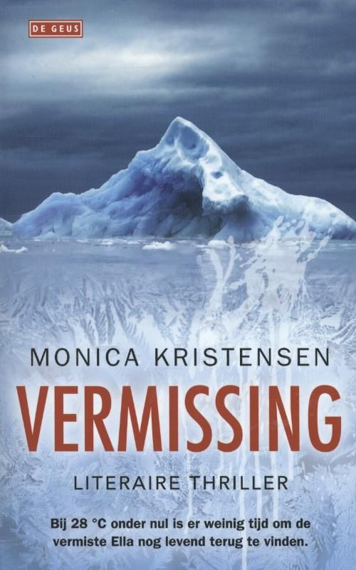 In een kinderdagverblijf op Spitsbergen wordt het vijfjarige dochtertje van een leidster vermist. Politieman Knut Fjeld verdenkt al snel de vader maar die komt om als zijn auto explodeert. Boeiend en spannend. De schrijfster is een Noorse glaciologe.