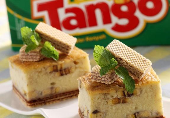 Puding Pisang Tango Tiramisu