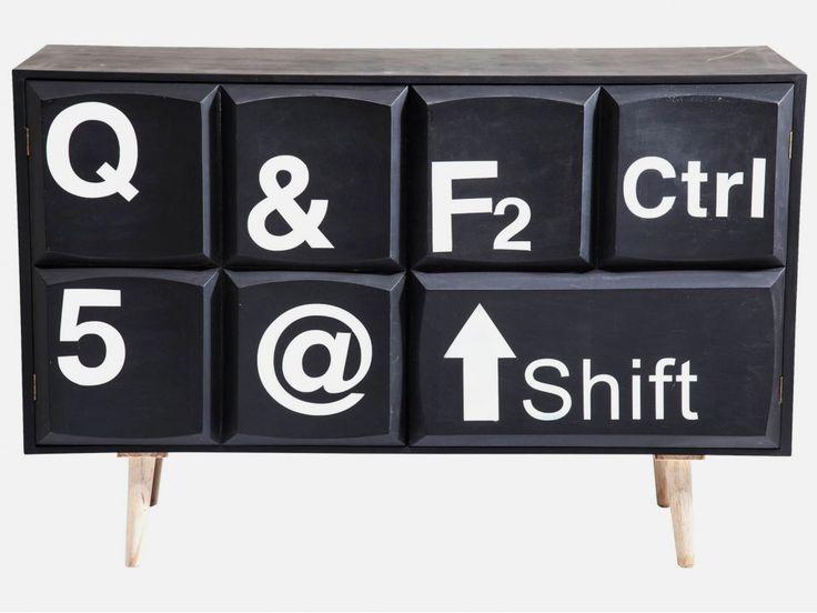 Komoda Keyboard — Komody Kare Design — sfmeble.pl