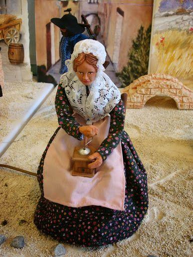 L'exposition de l'Escarène: mon coup de coeur - Santons et crèches de Provence