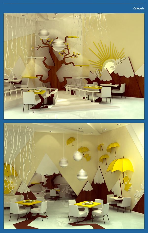 "Gorgeous inspiration for a child's space. Project ""Moomin Valley"" by designer Maria Yasko."