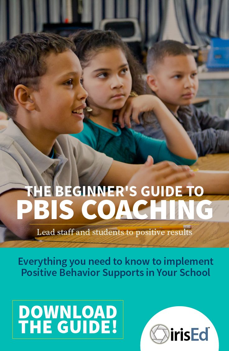 PBIS Coaches! Download this free guide to use as a reference for training staff on implementing good systems. Get it today! https://www.irised.com/pages/pbis-guide