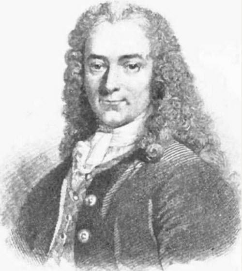 Voltaire, biografia, pensiero e citazioni.