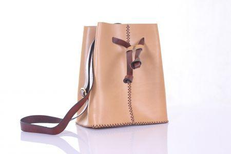 Agarapati Leather BUCKET BAG