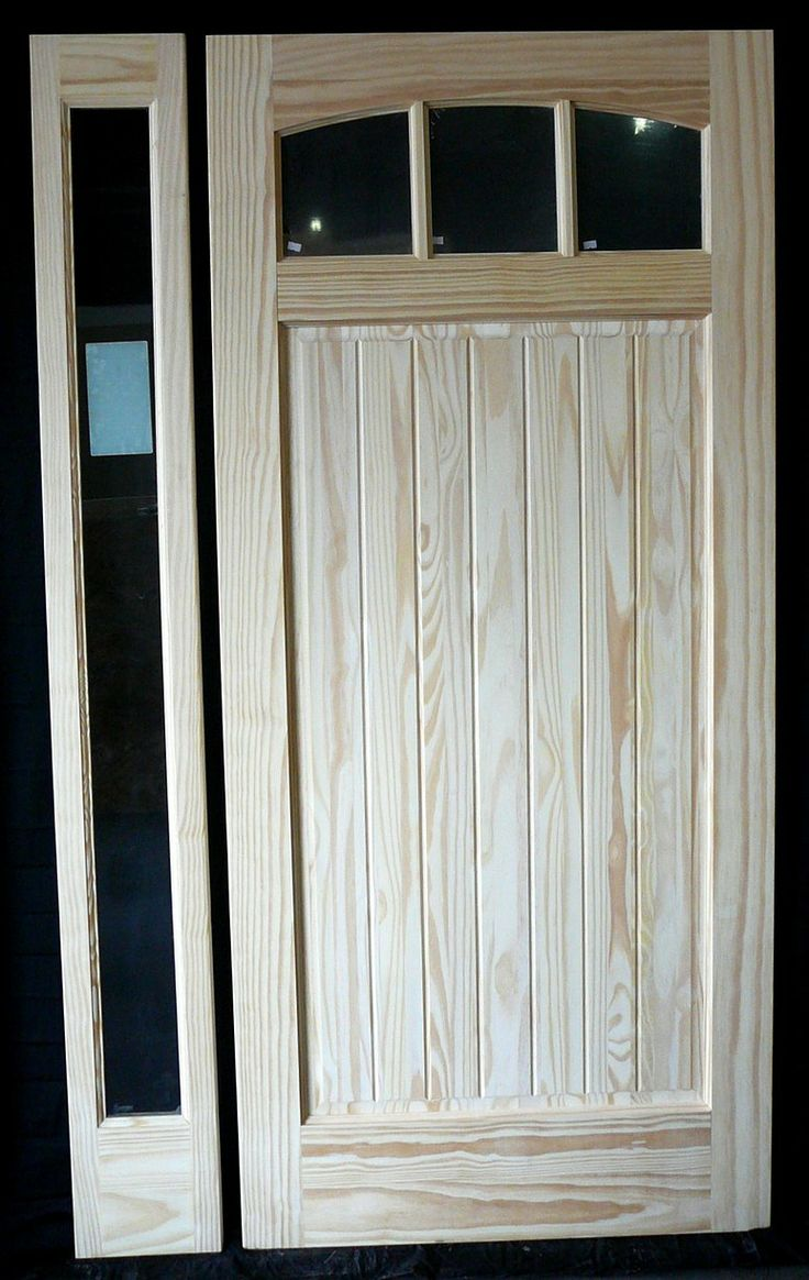 Double wood door 705b 30 quot x80 quot x2 right hand swing in front doors - Exterior Doors And Sidelites