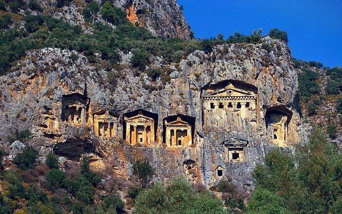 Lycian tomb  Antakya Turkey