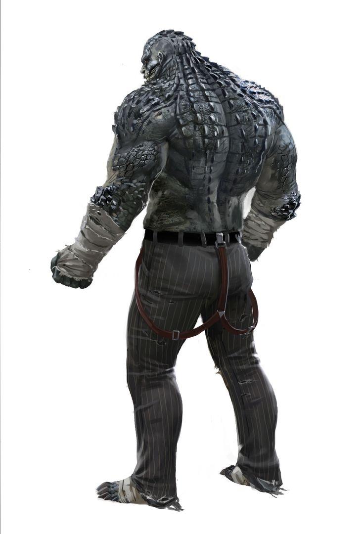 Concept Art: Killer Croc (AKA Waylon Jones)