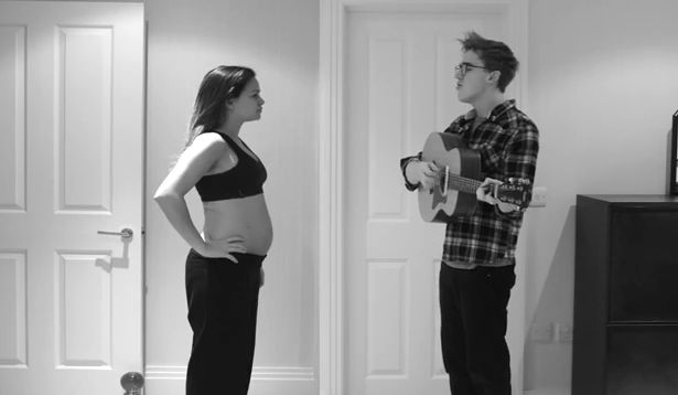 WATCH: Man Sings to Pregnant Wife in Amazing Time-Lapse Video
