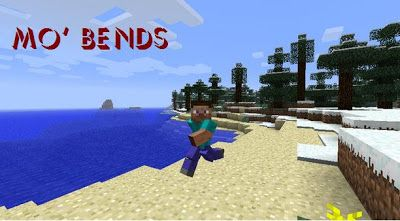Minecraft mods download free Mo' Bends 1.6.2 | Download Free Minecraf Mod
