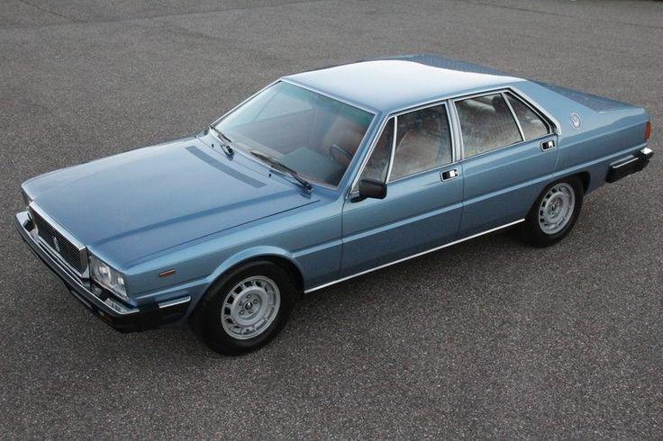 Maserati Quattroporte 3 1979 - Azzuro Metallizzato - 80.900 km.