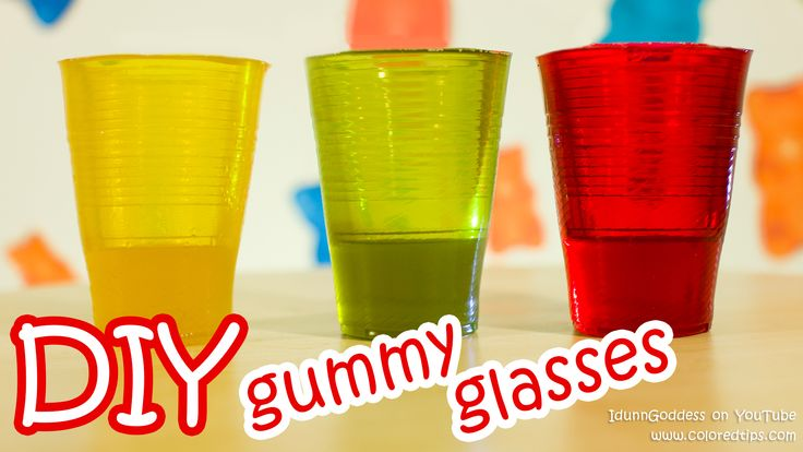 How To Make Gummy Glasses – DIY Edible Glasses Made From Delicious Gummy
