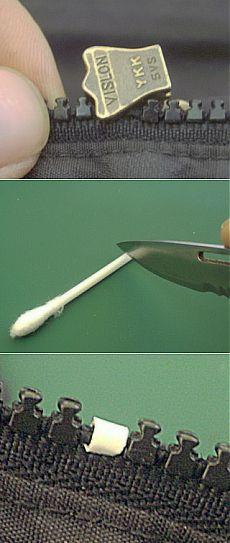Как починить сломанный зубчик молнии своими руками | Сделай сам!