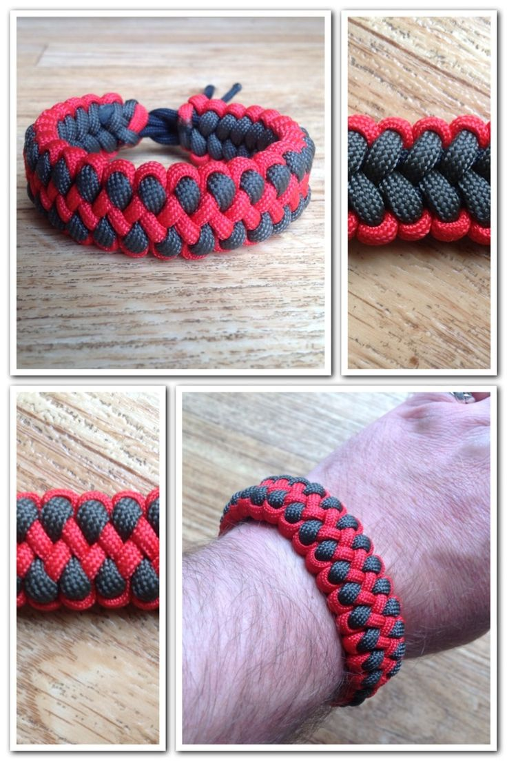 Everythingparacorduk: Dragon claw paracord bracelet.