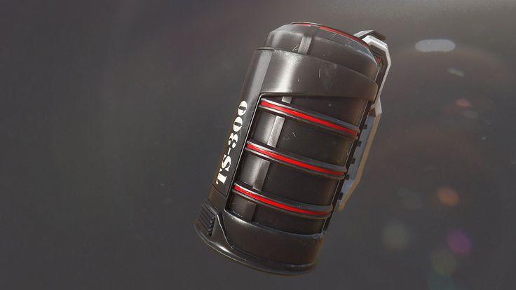 ArtStation - Grenade TS-300, Artem Korzhov