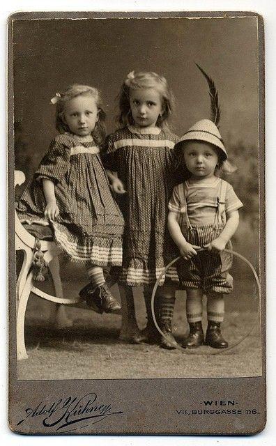 vintage photograph children by carmela
