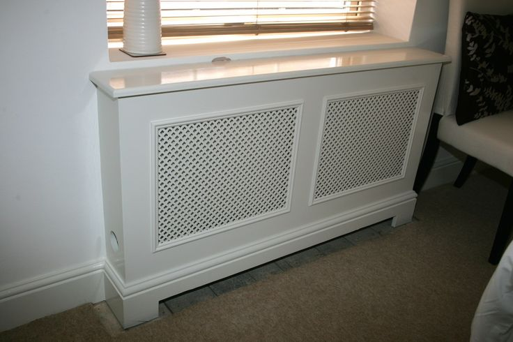 Simple and classic radiator cover