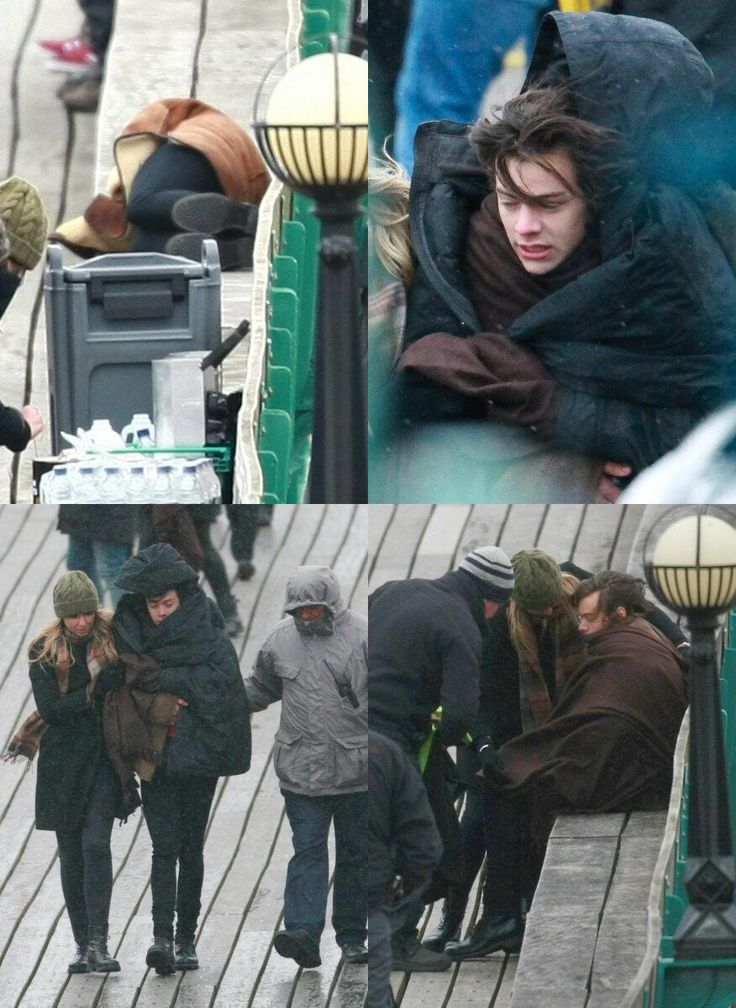 Gosh I hate, HATE seeing him cold like this.. it may sound stupid, but he shouldn't be that cold.