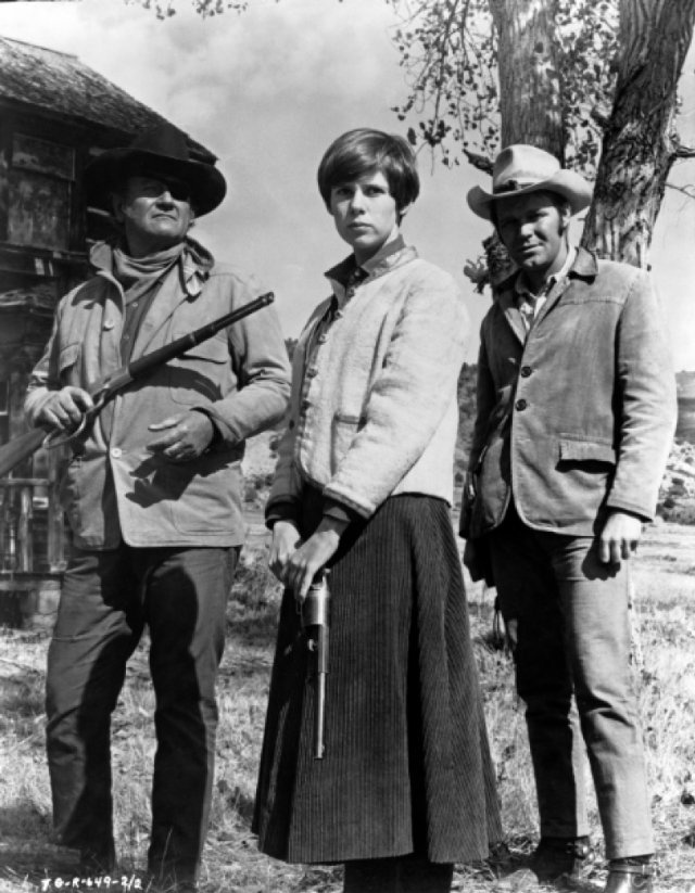 True Grit! My favorite John Wayne movie with Glen Campbell & Kim Darby!