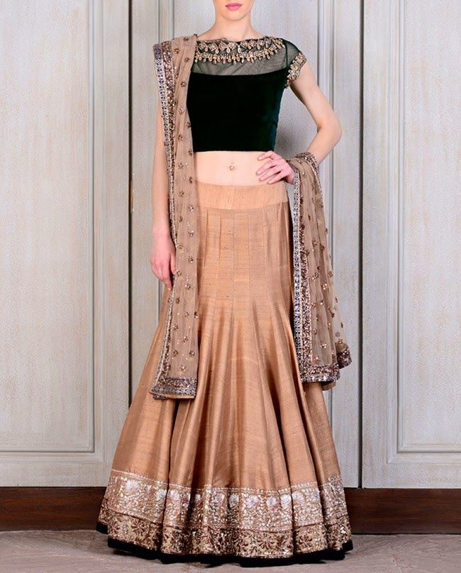 Fashion: Manish Malhotra's Wedding Lahenga Collection 2014