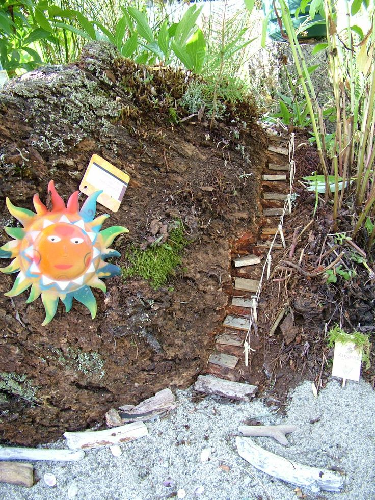 Fairy Garden Stairs To The Lighthouse