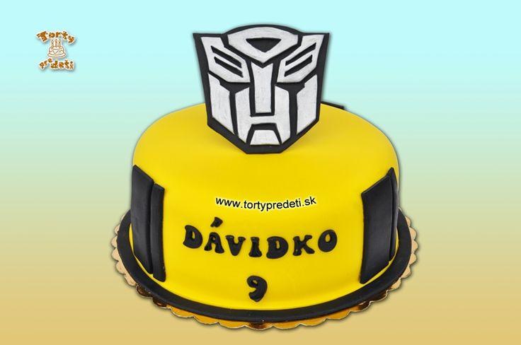 Torta Transformers | Torty pre deti Žilina - detské, marcipánové, 3D, a iné torty na objednávku