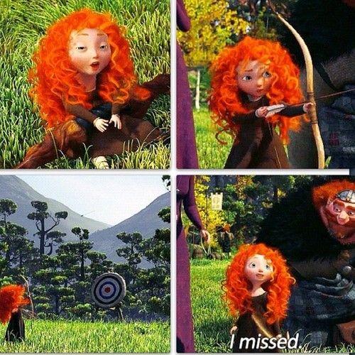 "Little Merida was so cute- ""I missed..."""