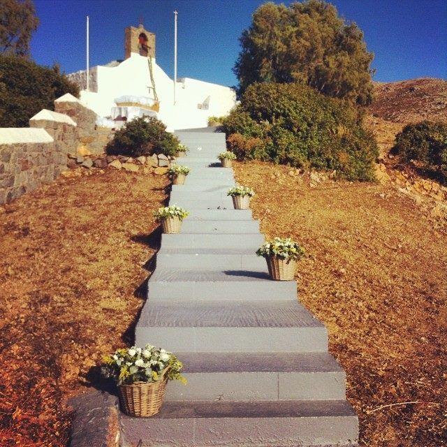 The beautiful church at Diakofti, #Patmos Photo credits: @vvand