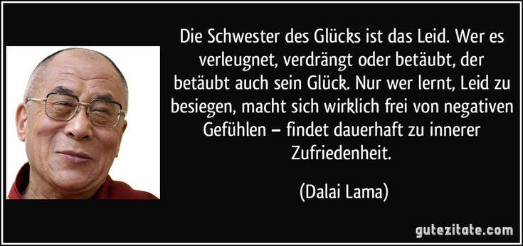 Leid, Dalai Lama