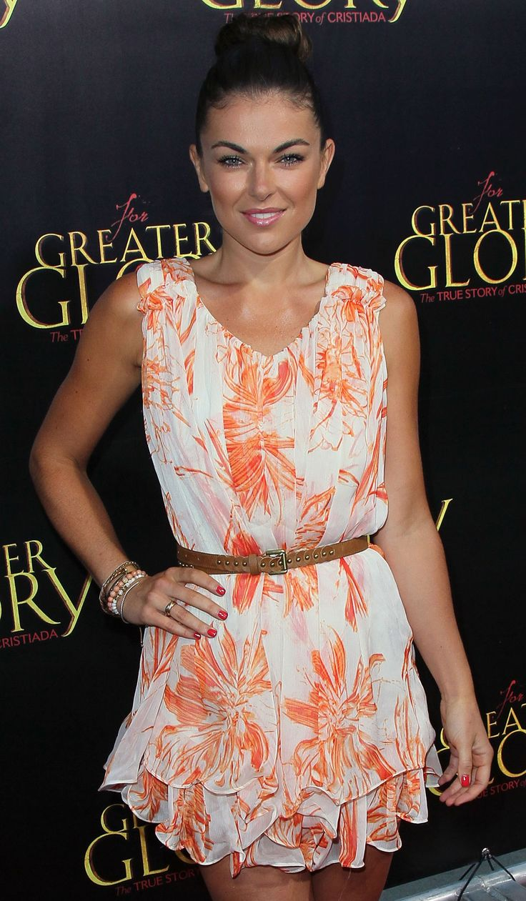 serinda swan  | SERINDA SWAN at For Greater Glory Premiere in Los Angeles