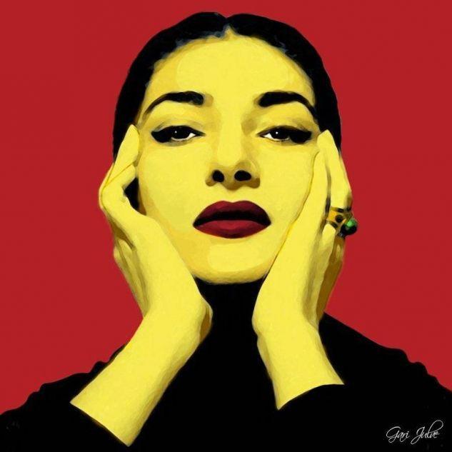 Maria Callas 1 Gari Julve- Artelista.com