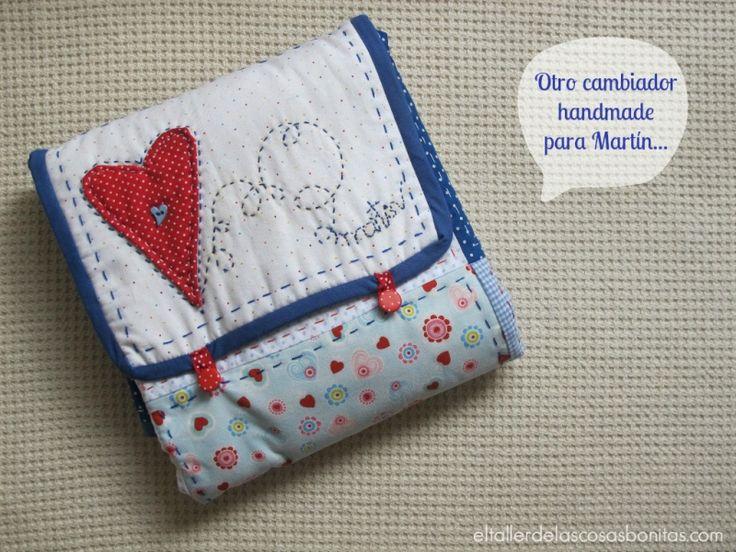 Cambiador para bebé de patchwork | el taller de las cosas bonitas