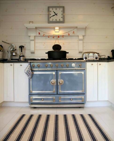 Blue And, French And Stove