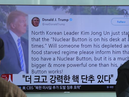 Analysis: How Trump's 'nuclear button' tweet could jeopardize his foreign policy