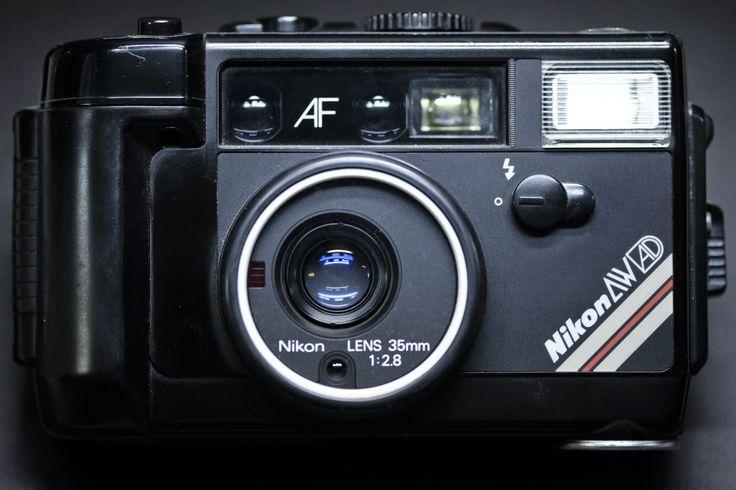 Nikon L 35AW AD #camera #museummonday #retro #nikon #photography