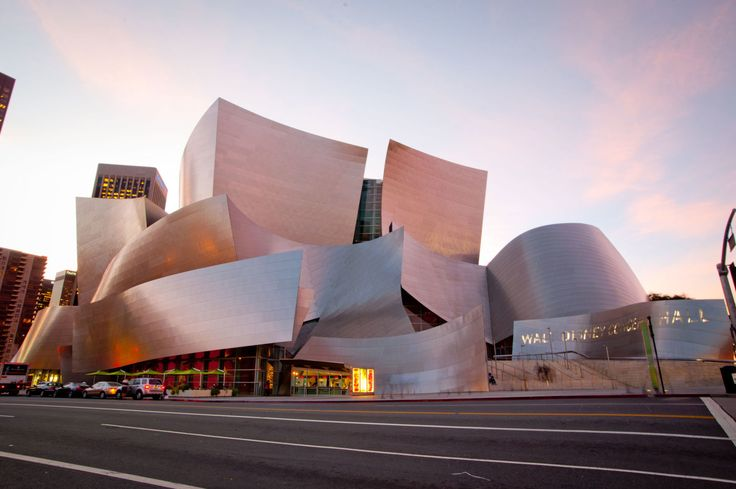 Frank Gehry · Walt Disney Concert Hall · Divisare Walt Disney Concert Hallis an internationally recognized architectural landmark and one of the most acoustically sophisticated concert halls in the world. The 3.6-acre complex has the stainless steel curves of its exterior to acoustics of the hardwood-paneled main auditorium.