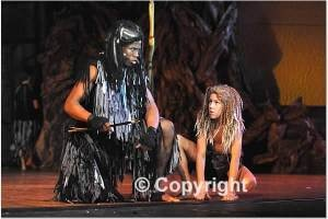 Disney's Tarzan the Musical Kerckek and little Tarzan