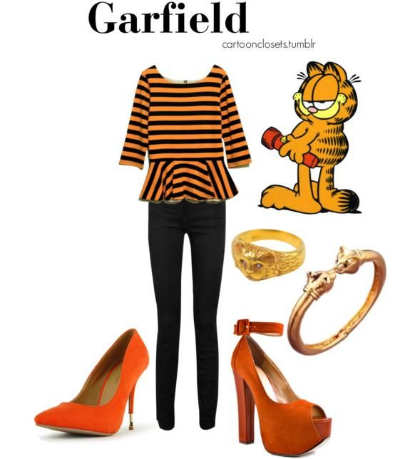 Cartoon Characters Clothes : Dress up like you are quot garfield fashion pinterest