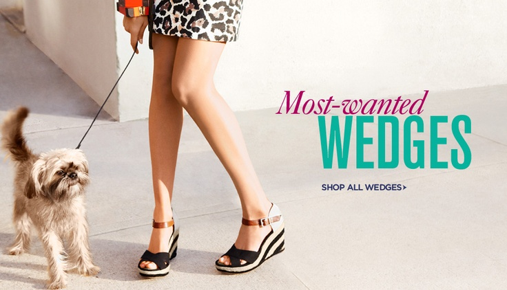 Love these wedges - spring essential