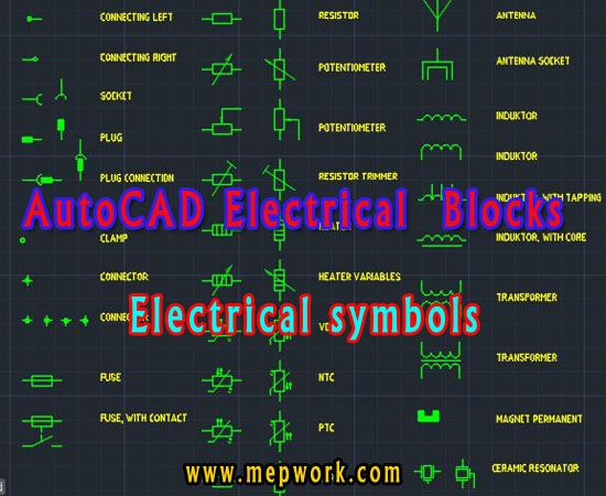 Download Autocad Electrical Symbols Blocks Free Dwg In