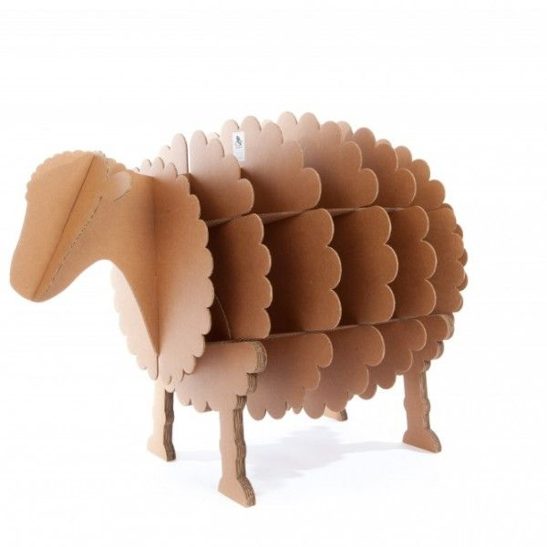 mouton en carton kraft                                                                                                                                                                                 Plus