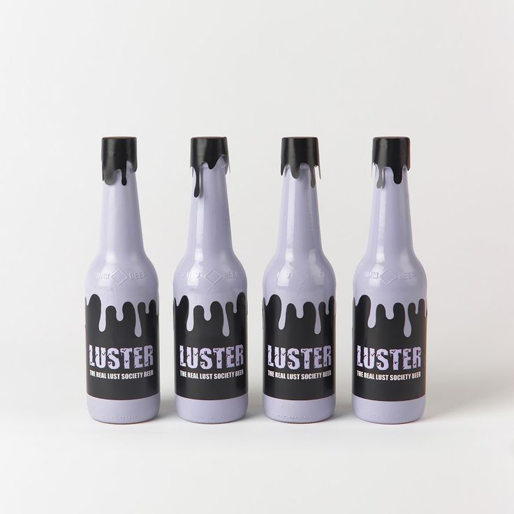 Luster Beer (Student Project) on Packaging of the World - Creative Package Design Gallery