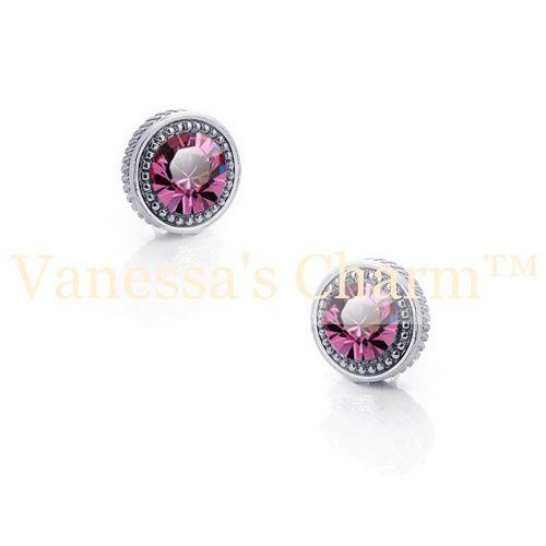 Crystal earrings, studs, stud earrings, earrings, jewelry, smycken, örhängen