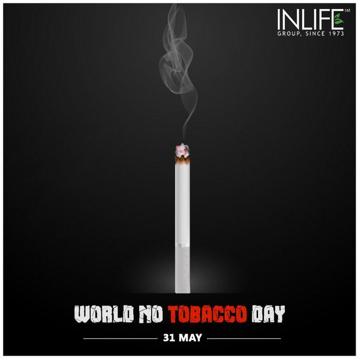 be BRIGHTER, put down the LIGHTER! #WorldNoTobaccoDay