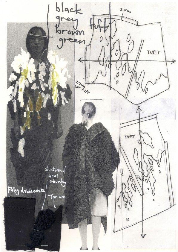 Fashion sketchbook - fashion drawings; fashion design development; fashion portfolio // Paul Thomson