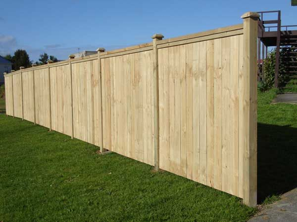 inset pailing cap rail fence fencing styles pinterest rail fence front fence and concrete