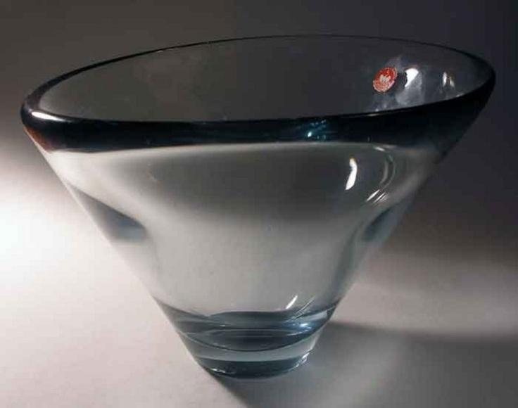 Per Lutken Thule bowl, Holmegaard